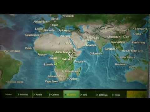 Flight Map D.C. To Luanda via Addis Ababa