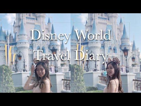 DISNEY WORLD TRAVEL DIARY 2019 - Filmed On Iphone X
