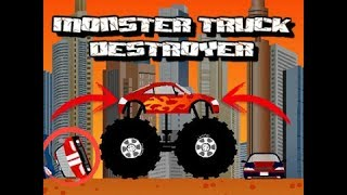 Destruyendo autos y mas...|Monster Truck Destroyer ||AlexgameplaysYT 1|