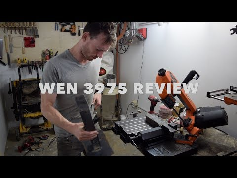 "WEN 3975 5"" Metal-Cutting Benchtop Bandsaw Review"