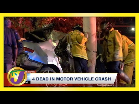 4 Dead in Motor Vehicle Crash   TVJ News