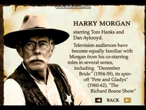 Harry Morgan Bio