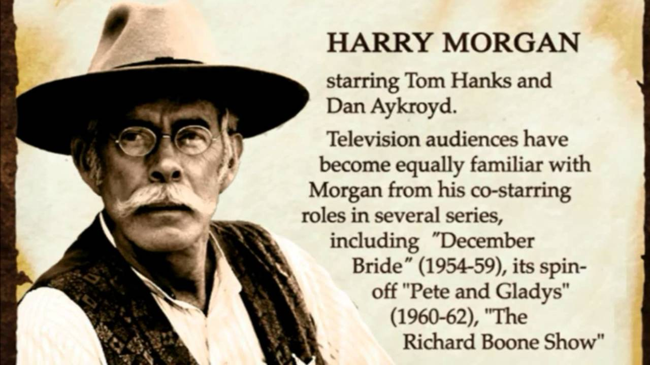 Harry Morgan Bio Youtube