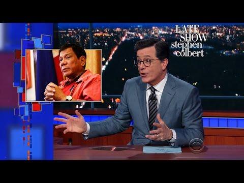 Trump's Odd Call With New BFF Rodrigo Duterte