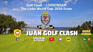 Golf Clash - LIVESTREAM - The Links World Cup 2018 Draw