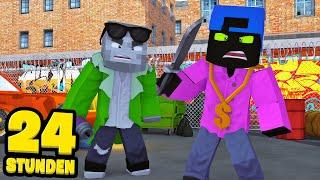 24 STUNDEN als GANGSTER LEBEN! - Minecraft [Deutsch/HD]