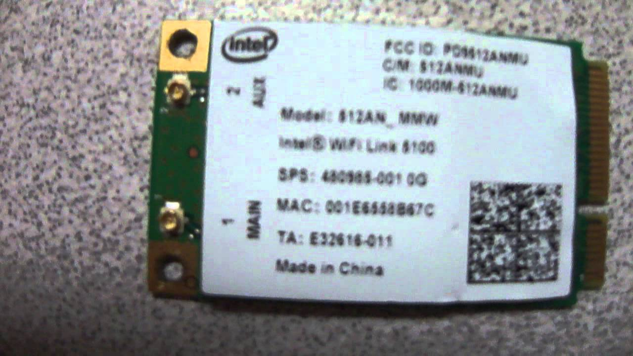 INTEL WIRELESS WIFI LINK 5100 AGN DOWNLOAD DRIVER