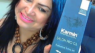 Super plancha para el Cabello /karmin Pro G3