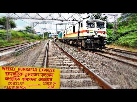 #IndianRailway #HumsafarExpress #CentralRailway