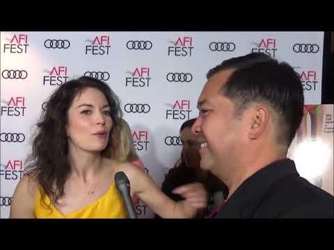 AFI Fest: Red Carpet Interview with Britt Lower for Mr. Roosevelt