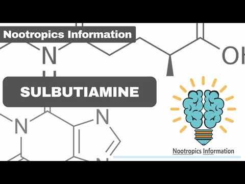 #sulbutiamine---#nootropics-information