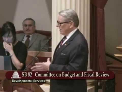 CA Senate - Developmental Disabilities Funding