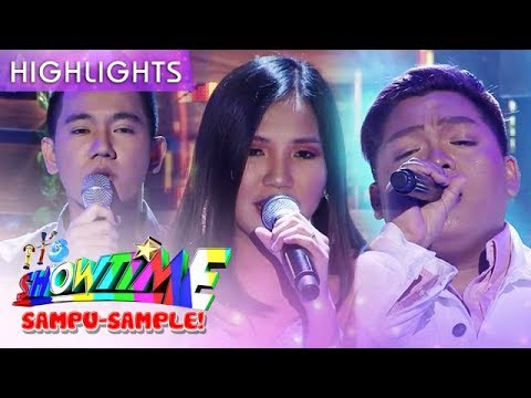 Elaine, John Mark And JM Sing 'Tala' | It's Showtime