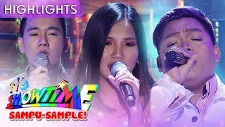 Elaine John Mark and JM sing 39Tala39 on It39s Showtime stage  It39s Showtime