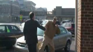 Mark Byers assaults supporter / attorney at West Memphis Three hearing!