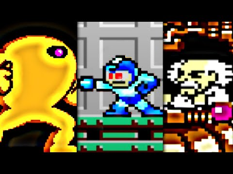 Mega Man I - All Bosses (No Damage)