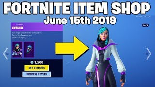 *NEW* SYNAPSE Skin! - Fortnite Item Shop 15th of June (FORTNITE BATTLE ROYALE)