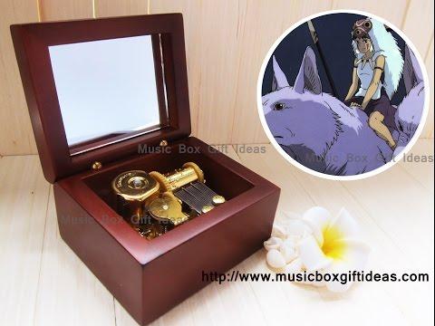Studio Ghibli Princess Mononoke Legend of Ashitaka 18note Music Box