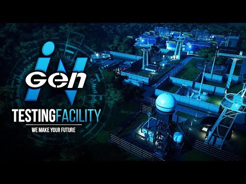 HIDDEN INGEN TEST FACILITY - NEW PARK! | InGen Testing Facility (Jurassic World: Evolution)