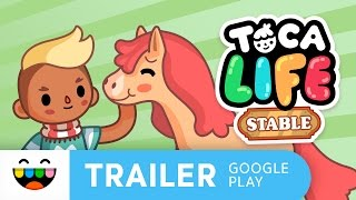 Play with Horses in Toca Life: Stable | Google Play Trailer | @TocaBoca