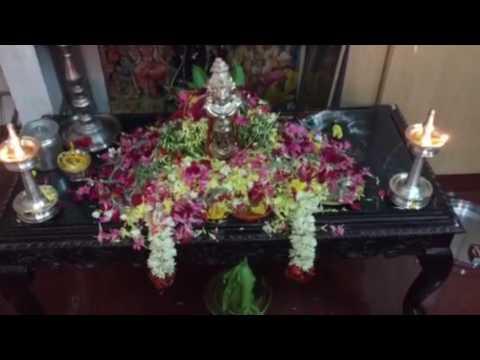Srirangam Radhu-Varalakshmi Nombu 2016