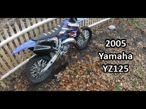 2005 Yamaha YZ125- Test ride