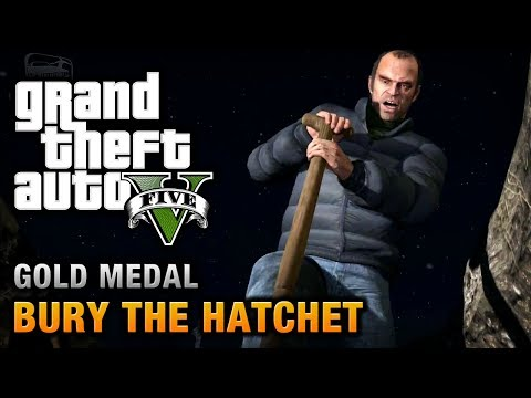GTA 5 - Mission #57 - Bury the Hatchet [100% Gold Medal Walkthrough]