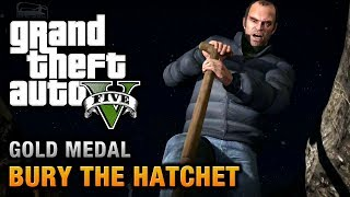 Скачать GTA 5 Mission 57 Bury The Hatchet 100 Gold Medal Walkthrough