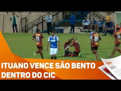 Ituano vence São Bento dentro do CIC - TV SOROCABA/SBT