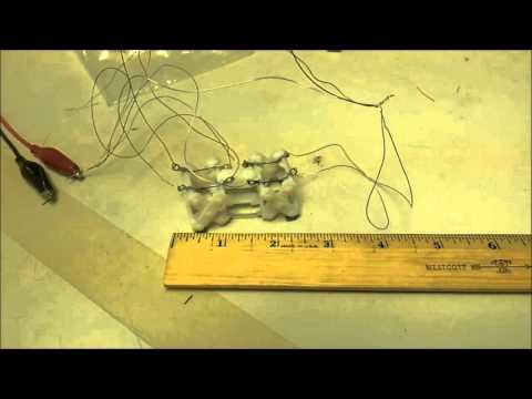 Micro/Nano Robotics Class Project: Micro Crawler Robot