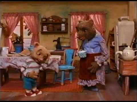 """""""Breakfast Scene"""" Goldilocks and the Three Bears Sing Their Little Bitty Hearts Out"""