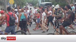 Cuba: Fears over missing demonstrators in Havana