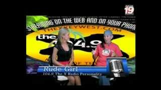 The Rude Girls Are Back On 104.9, The X Radio with Their Own Wacked Out Comedy & Commentary