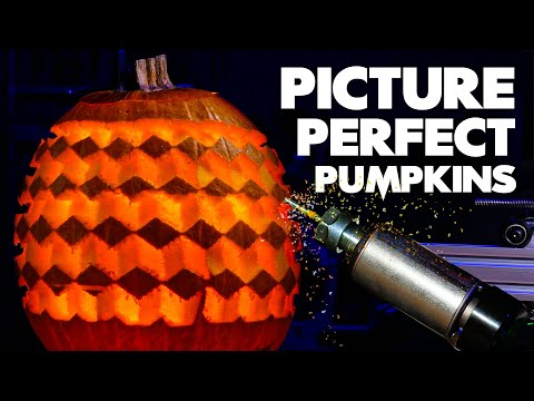 Making a robot to carve photos into pumpkins - Stuff Made Here