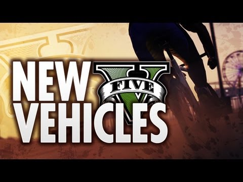 NEW GTA 5 - Official Vehicle Images! Jets, Bikes & Cars!