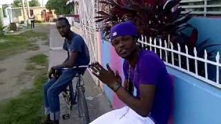 Shawn Storm Pon Di Gaza Freestyling & A Vibes (Big Up KasExodus|GazaEmpire, Jjevafrass & More) 2011