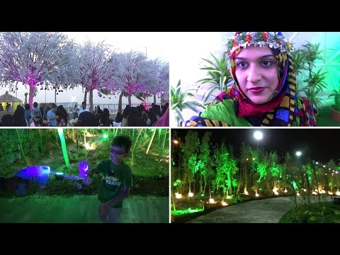 FLower festival in Riyadh Saudi Arabia | Naush Vlogs | Urdu  Hindi Vlogs