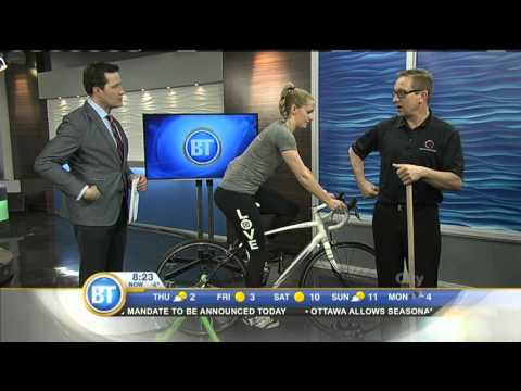 The Bike and Your Back: Proper posture positioning on a bike
