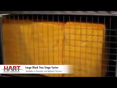 Two Stage Cutter | Large Blocks | HART Design & Manufacturing