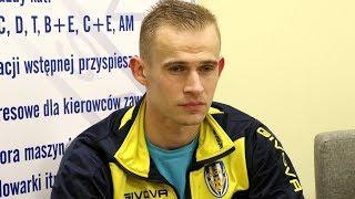 Kapitan Korony Ostro³êka Piotr Strze¿ysz o meczu z Huraganem Wo³omin