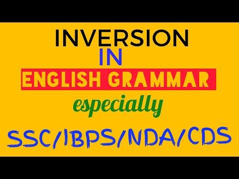 Inversion हिंदी में। by english wizard #englishwizard