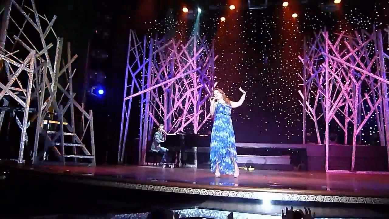 "Shoshana Bean sings ""Cornet Man"" from Funny Girl on The Broadway Cruise"