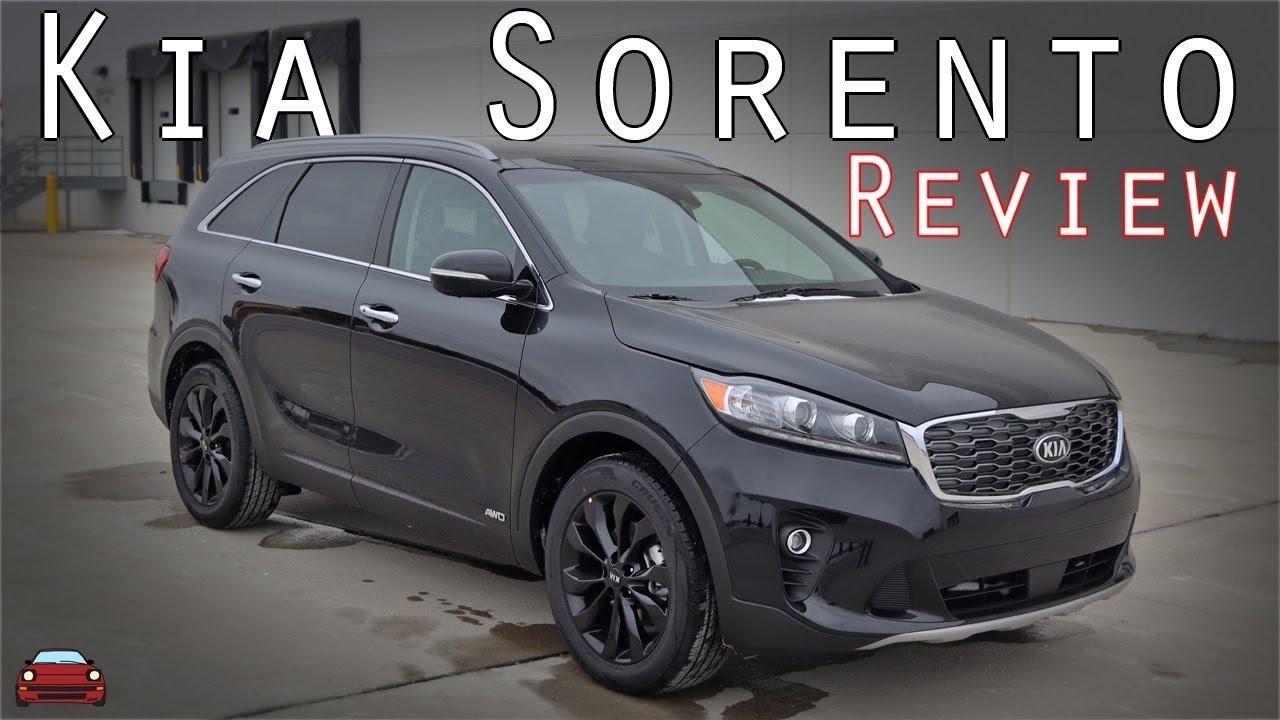 2020 Kia Sorento Ex Review Youtube