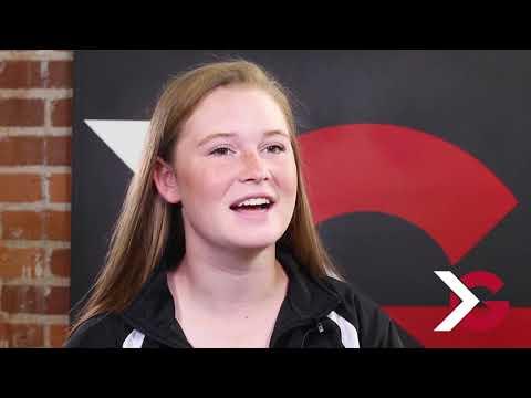 Atlantic Coast High School's Allison McMullen