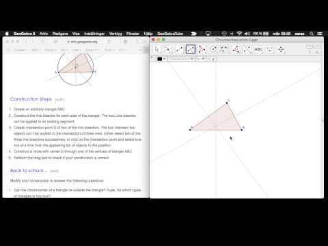 3 - Circumscribed circle