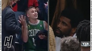 Celtics Fan Throws Water Bottle at Kyrie Irving as He Exits the Arena | 2021 NBA Playoffs