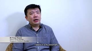 Mr Fang Xinwei, Senior Social Worker, Singapore Children's Society