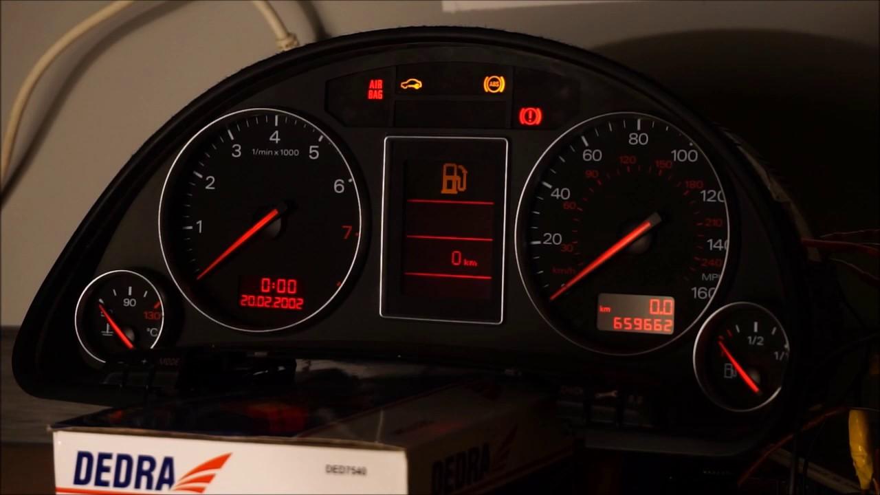 Audi A4 Staging Gauge Test Bosch Rb4 Youtube