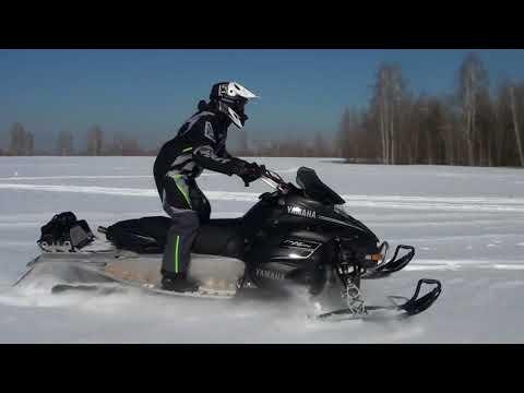 Yamaha Nytro. Весенний прохват на снегоходе в Новосибирской области.