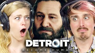 People Challenge Their Morals In Detroit: Become Human • Scared Buddies